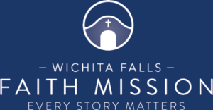 Wichita Falls Faith Mission Logo | Every Story Matters