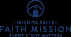 Wichita Falls Faith Mission Logo | Every Story Matters