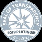 Guidestar 2019 Plaitinum Member