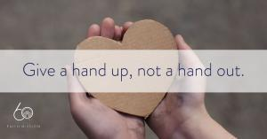 Girl holding heart in hand